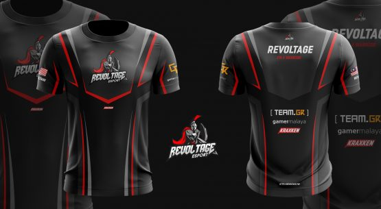 2017 Revoltage Jersey Fans Issue